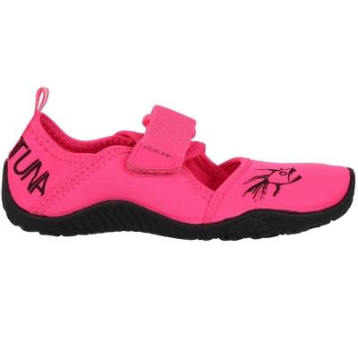 Pantofi apa Tuna Splasher Pantofi apa Hot Strap Aqua pentru Copii roz negru alb