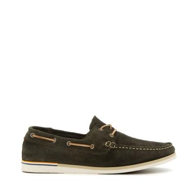 Pantofi barca Dune London Blaines kaki suade