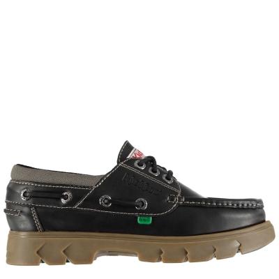 Pantofi barca Kickers Lennon negru