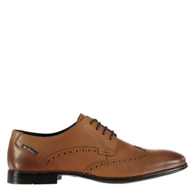 Pantofi Ben Sherman Leadenhal tan piele
