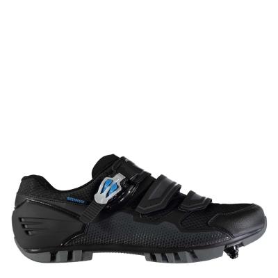 Pantofi ciclism Muddyfox MTB200 pentru Barbati negru albastru