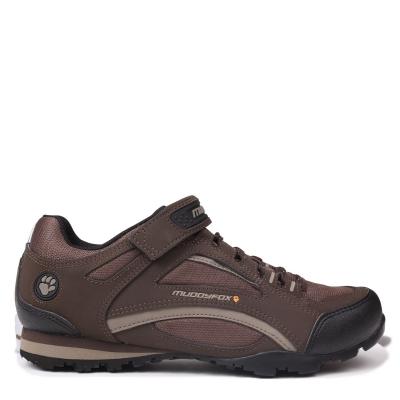 Pantofi ciclism Muddyfox TOUR 100 Low pentru Barbati maro