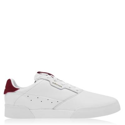 Pantofi de Golf adidas Adicross Retro pentru Barbati alb visiniu