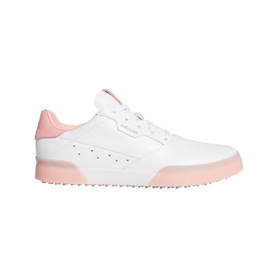 Pantofi de Golf adidas Adicross Retro pentru Femei alb roz
