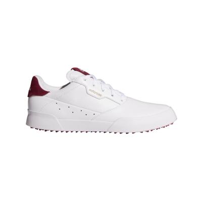 Pantofi de Golf adidas Adicross Retro pentru Femei alb wild roz