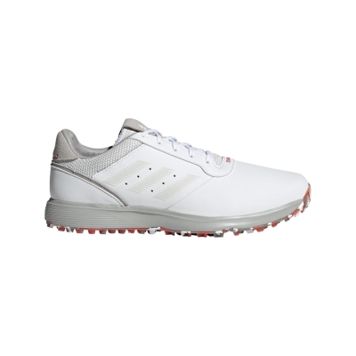 Pantofi de Golf adidas S2G SL pentru Barbati alb