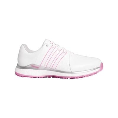 Pantofi de Golf adidas Tour 360 XTSL pentru Femei alb wild roz