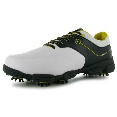 Pantofi de Golf Dunlop Biomimetic 500 pentru Barbati alb negru