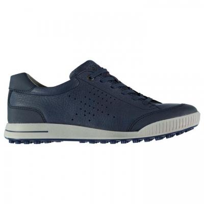 Pantofi de Golf Ecco Street Retro pentru Barbati alb albastru