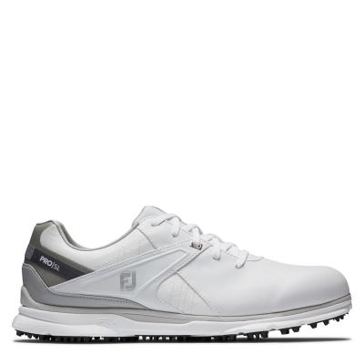 Pantofi de Golf Footjoy Pro SL pentru Barbati alb gri