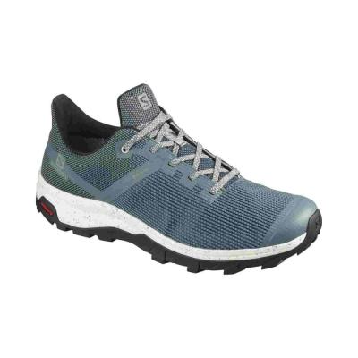 Pantofi Drumetie Barbati OUTline Prism GTX Gri Salomon