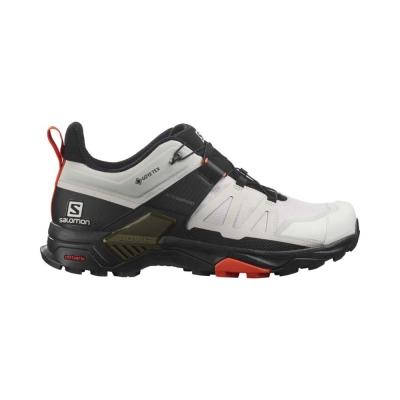 Pantofi Drumetie Barbati Salomon X ULTRA 4 GTX Alb