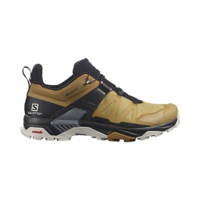 Pantofi Drumetie Barbati Salomon X ULTRA 4 GTX Kaki