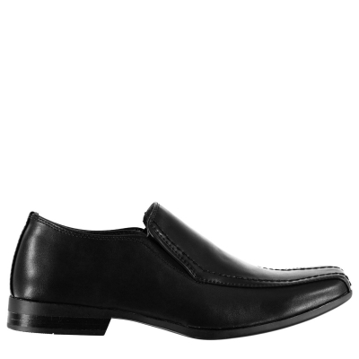Pantofi fara siret pentru barbati Giorgio Bourne negru