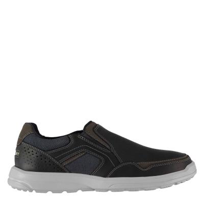 Pantofi fara siret pentru barbati Rockport Rockport Welker Casual bleumarin w canva