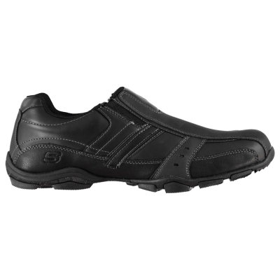Pantofi fara siret Skechers Casual pentru Barbati negru