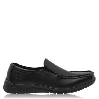 Pantofi Giorgio Bexley Slip pentru copii negru
