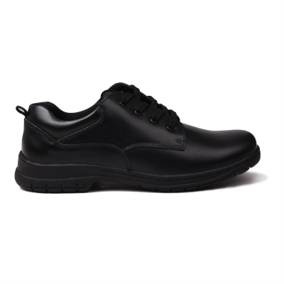 Pantofi Kangol Churston cu siret pentru copii negru