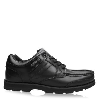 Pantofi Kangol Harrow din piele pentru Barbati negru
