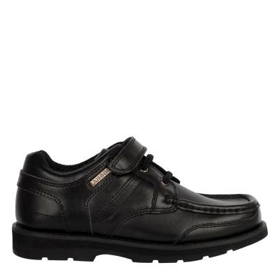 Pantofi Kangol Harrow Lace Child negru