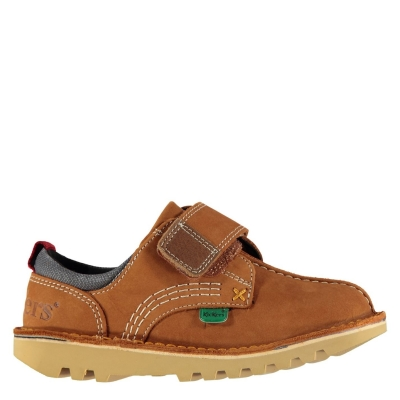 Pantofi Kickers Lo Stroll bej