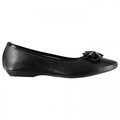 Pantofi Miss Fiori Brittany pentru fete pentru copii negru