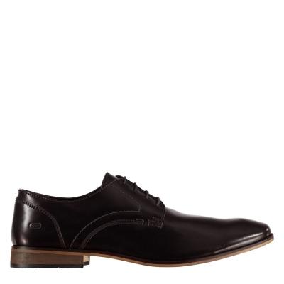 POD Smart Brogue Shoes pentru Barbati visiniu