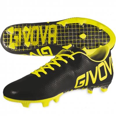 Pantofi sport ASS SCARPA METAL NERO/GIALLO FLUO Givova
