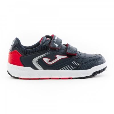 Pantofi sport copii Wotto Jr Joma 2043 bleumarin-rosu