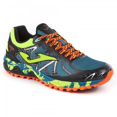 Pantofi sport Joma 715 verde-fluor