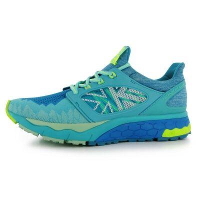 Adidasi alergare Karrimor Excel 2 Support pentru Femei verde lime albastru aqua