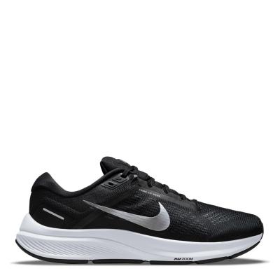 Pantofi Sport Nike Air Zoom Structure 24 pentru Barbati negru argintiu