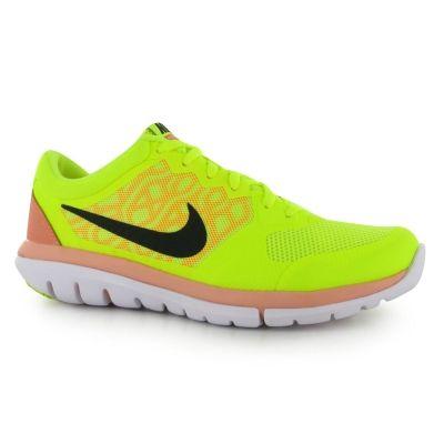 Pantofi Sport Nike Flex 2015 pentru Femei volt negru portocaliu