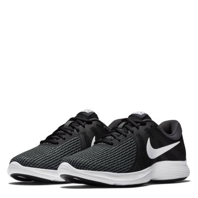 Pantofi Sport Nike Revolution 4 pentru femei negru alb