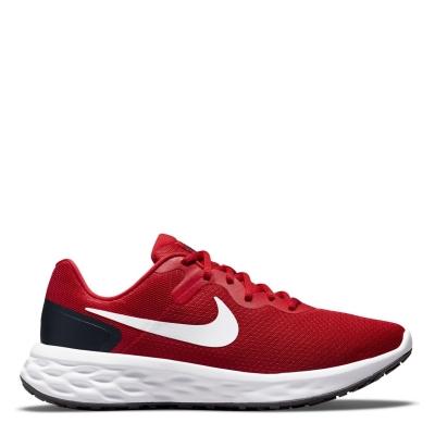 Pantofi Sport Nike Revolution 6 pentru Barbati rosu alb negru