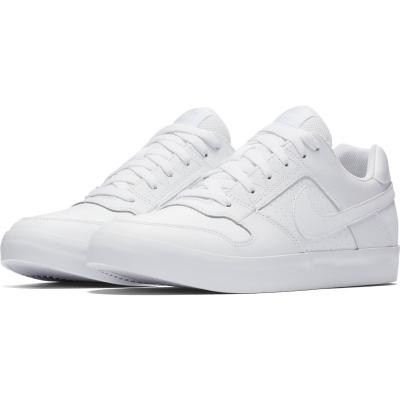 Pantofi sport albi piele Nike Sb Delta Force Vulc Barbati