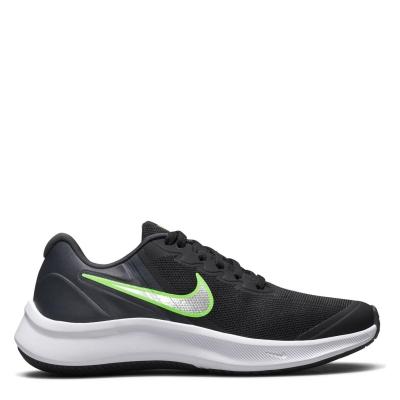 Pantofi Sport Nike Star Runner 3 Big pentru Copii negru silvgreen