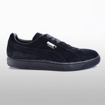 Pantofi sport piele Puma Suede Classic 352634-77 negru Barbati