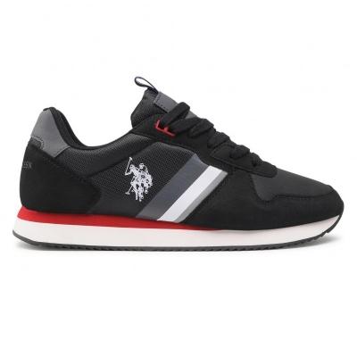 Pantofi sport us polo exte nobil001/ahn1 negru