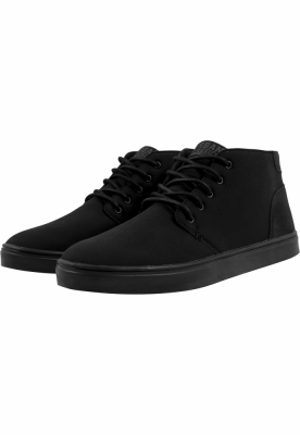 Pantofi urban cu sireturi negru-negru Urban Classics