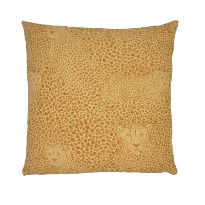 Paoletti AOP Cheetah Cushion galben pf