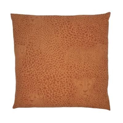 Paoletti AOP Cheetah Cushion rosu pf