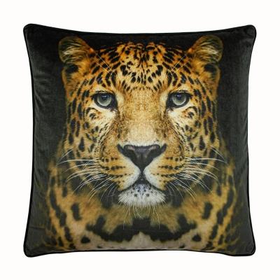 Paoletti Cheetah Cushion negru ff