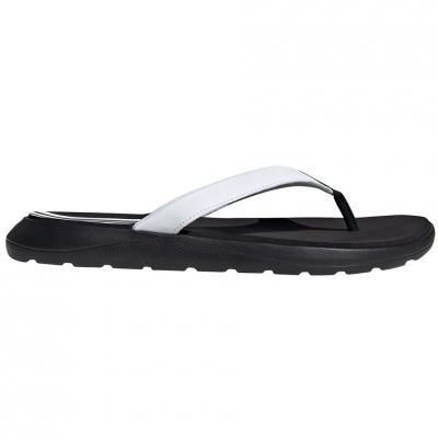 Papuci Adidas Comfort alb-negru EG2065 pentru femei