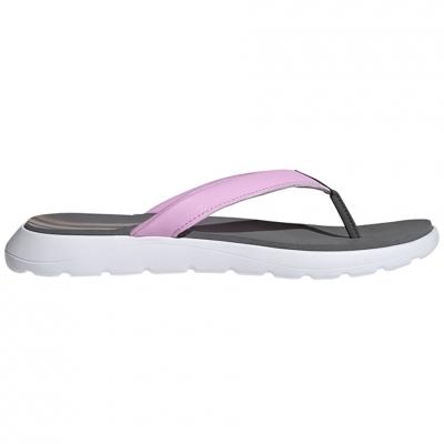 Papuci Adidas  Comfort Flop gri-roz FY8658 pentru femei