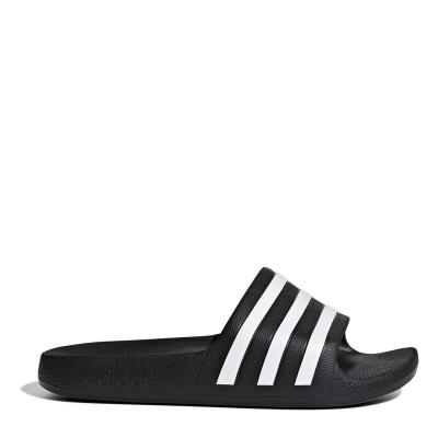 Papuci adidas Duramo Slide pentru baieti negru alb