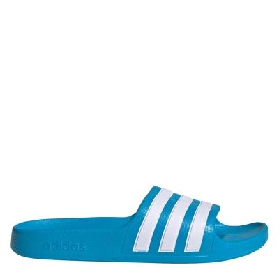 Papuci adidas Duramo Slide pentru baieti solblue alb