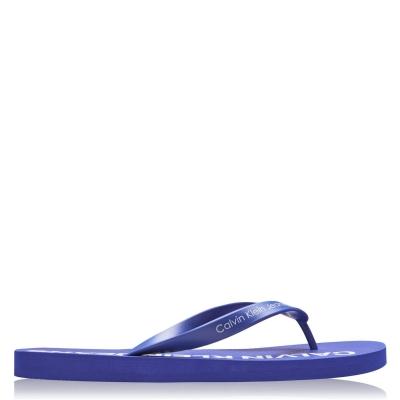 Papuci Calvin Klein Jeans Errol Jelly albastru