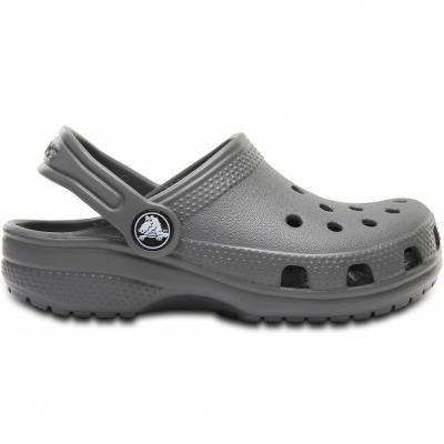 Papuci cauciuc Crocs Crocband K clasic gri 204536 0DA pentru Copii