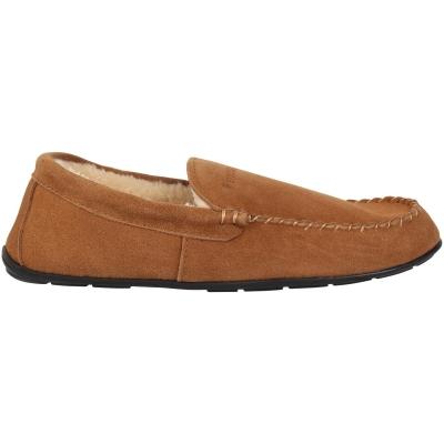 Papuci de Casa Firetrap Moccasin pentru Barbati bej